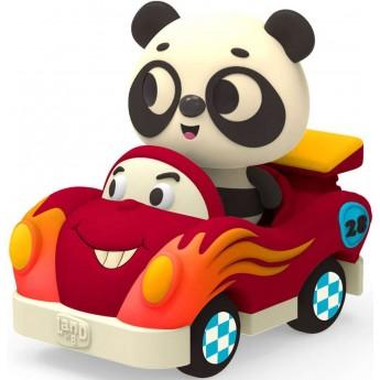 B.Toys Miękkie autko sensoryczne wyścigówka z Pandą Land of B. od 12mc
