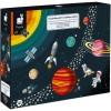 Janod Puzzle edukacyjne Układ słoneczny 100 el. +5