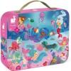 Janod Syreny puzzle 24 elementy w walizce dla dzieci +3