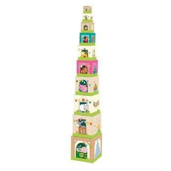 Wieża Na Farmie piramida, Haba