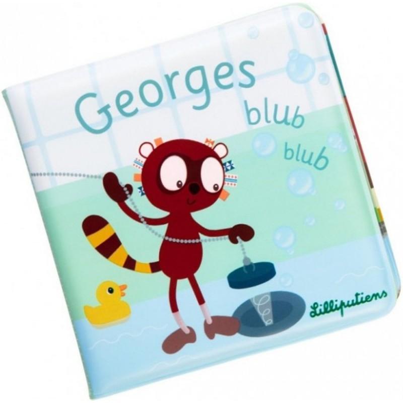 LILLIPUTIENS Książeczka do kąpieli Lemur George +18 m