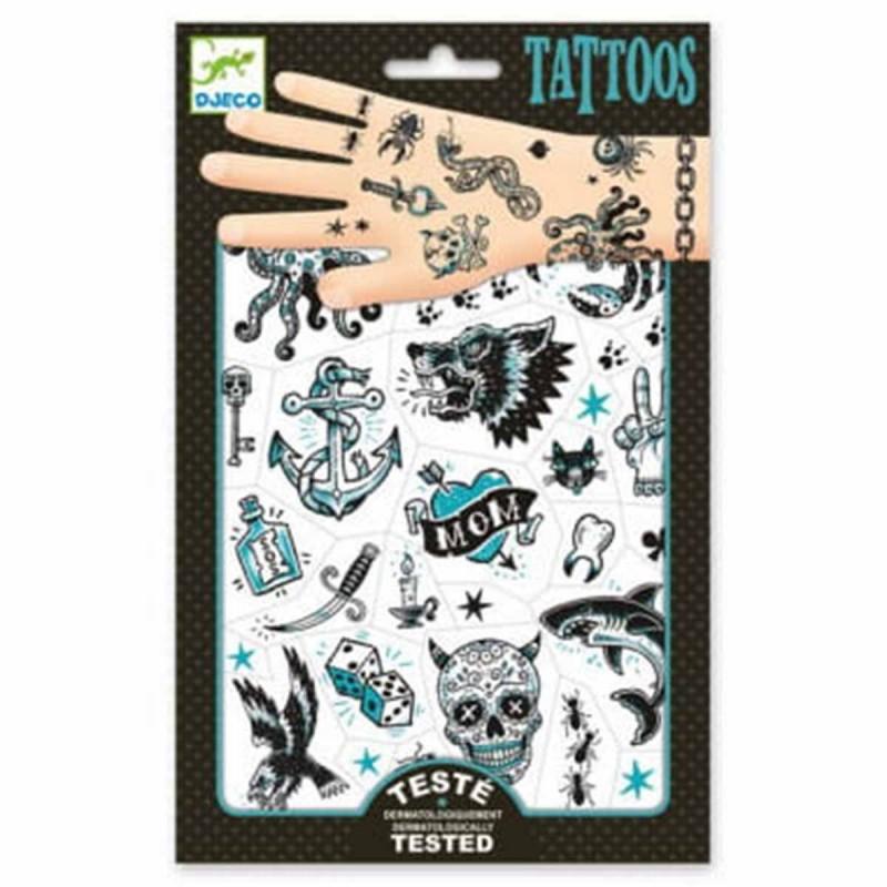 Djeco tatuaże ciemna strona