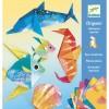 Djeco Origami morskie zwierzęta metaliczne