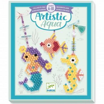 Djeco Zestaw artystyczny aqua uroki morza