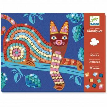Djeco Oaxacan Mozaika piankowa błyszcząca dla dzieci +4
