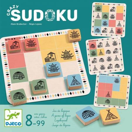 Djeco Gra logiczna Szalone Sudoku
