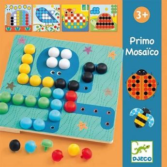 Djeco Mozaika primo-kolorowe obrazki