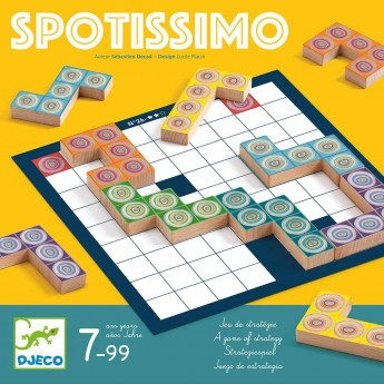 Djeco Gra taktyczna Spotissimo +7