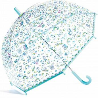 Djeco Parasol przeciwdeszczowy Jednorożce