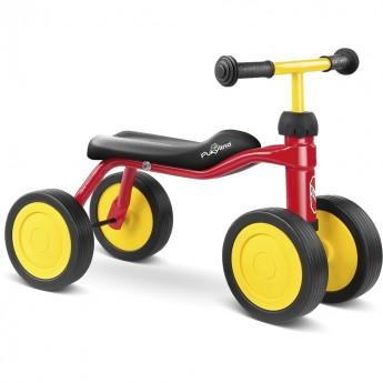 PUKYlino jeździk czerwony metalowy dla dzieci od 12mc