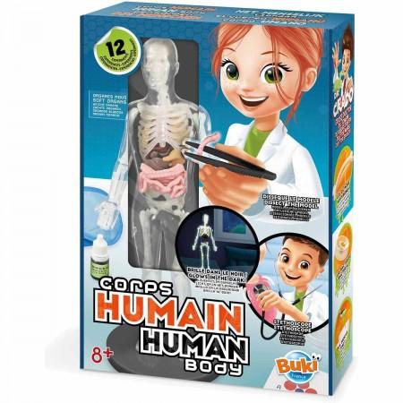 Buki 12 eksperymentów Model Ludzkiego Ciała +8