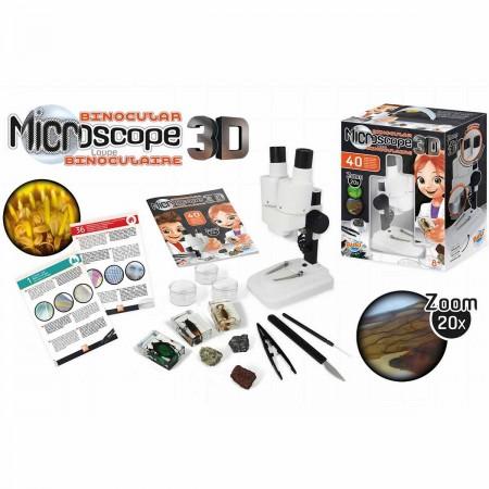 Buki Mikroskop dwuokularowy 40 doświadczeń +8