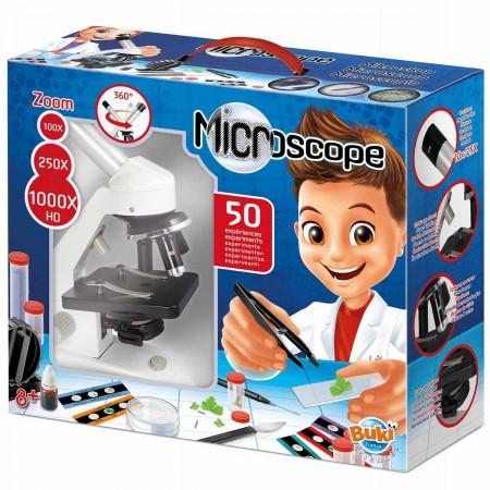 Buki Mikroskop 50 doświadczeń +8