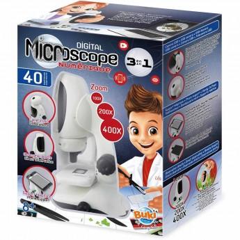 Buki Mikroskop cyfrowy 3 w 1 +8