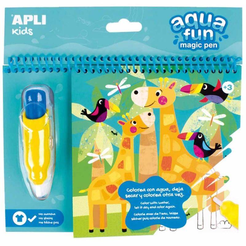 Apli Kids Kolorowanka wodna Dżungla +3