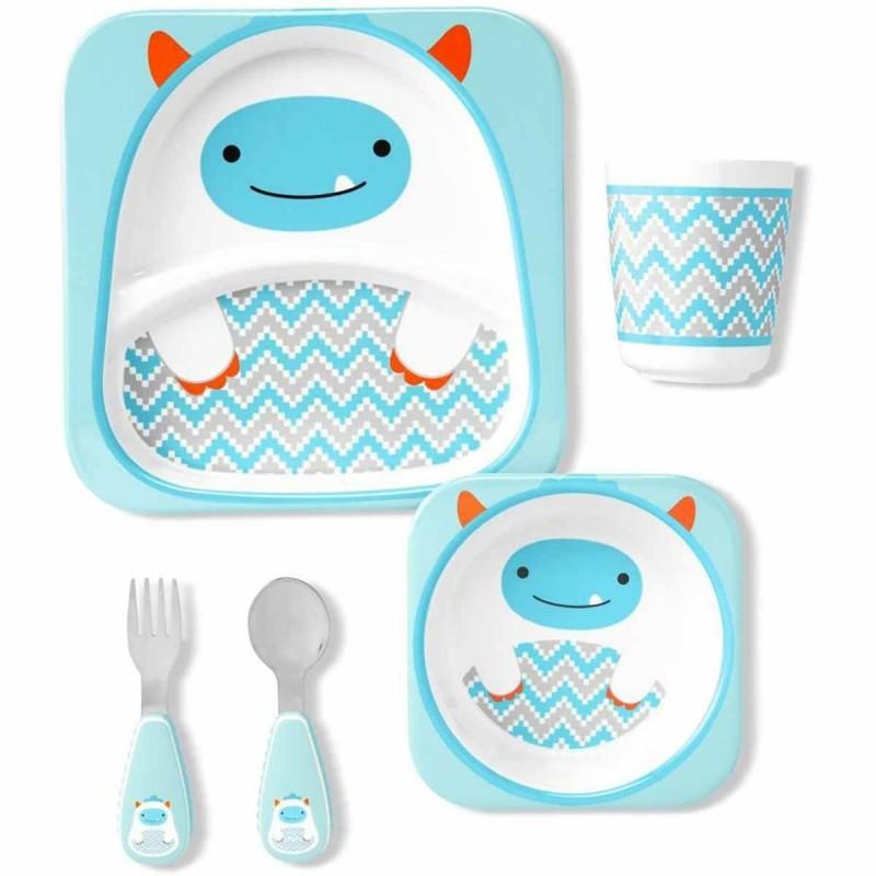 Skip Hop zestaw obiadowy dla dzieci Zoo Winter Yeti