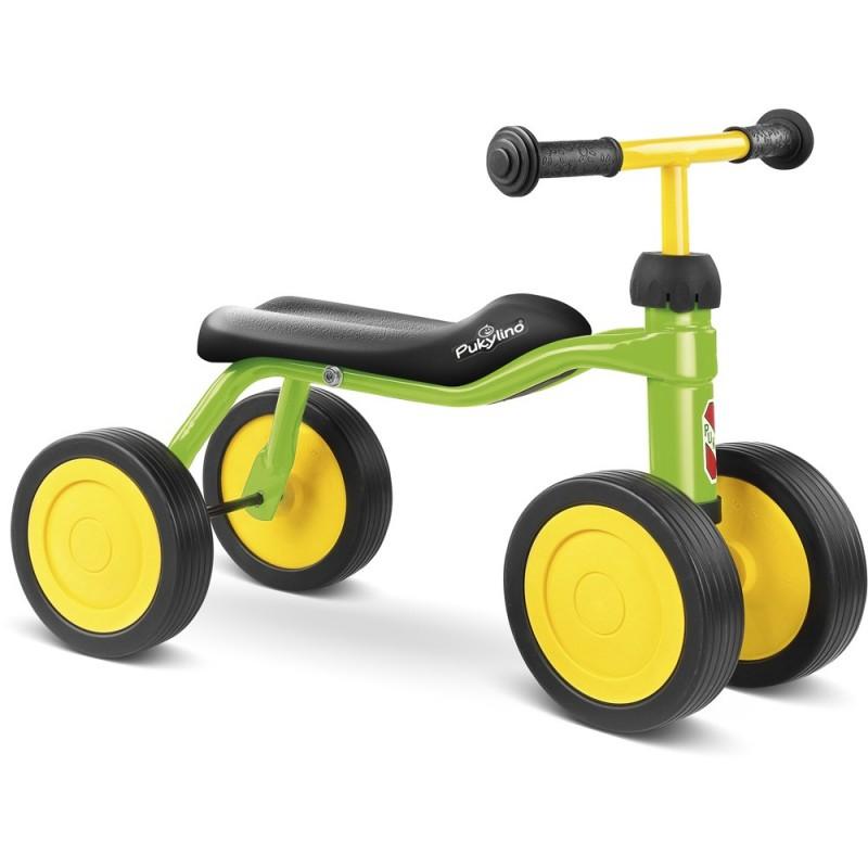 PUKYlino jeździk zielony metalowy dla dzieci od 12mc