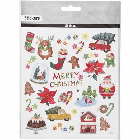 Naklejki  Ozdobne Wszystko na Boże Narodzenie Creativ Company +3