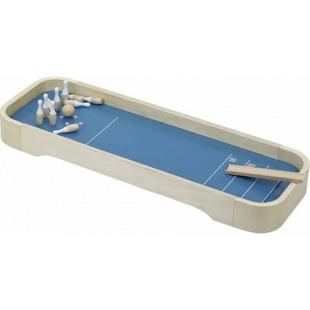 Vilac Kręgle i Curling drewniane gry 2w1 dla dzieci zabawka +4