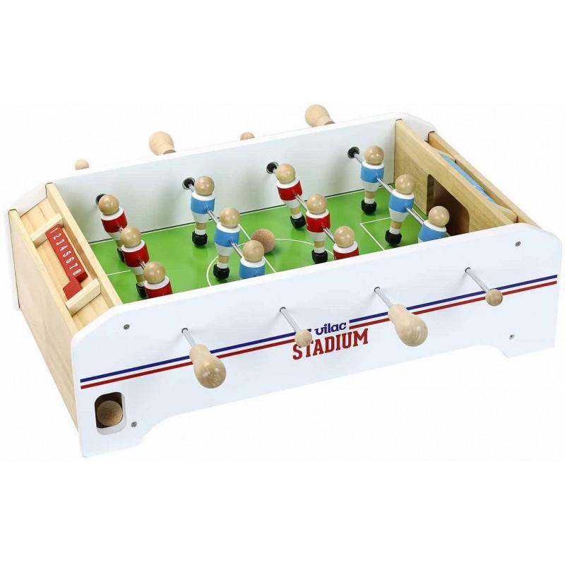 Vilac Piłkarzyki duża drewniana gra dla dzieci zabawka +4
