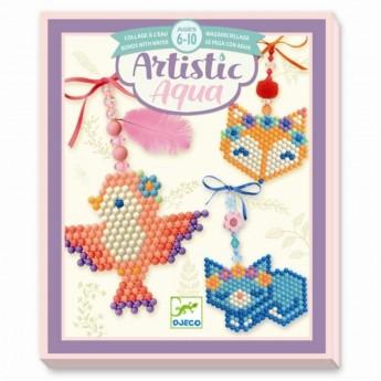 Djeco Zestaw artystyczny Aqua Zwierzątka dla dzieci +6