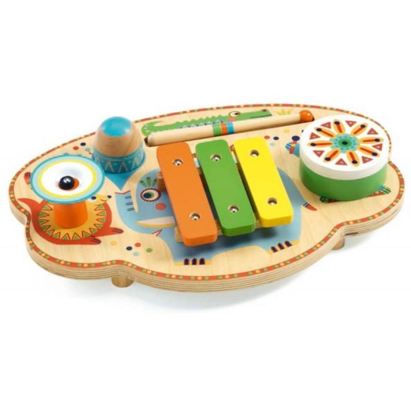 Djeco Instrument wielofuncyjny muzyczny Karnawał