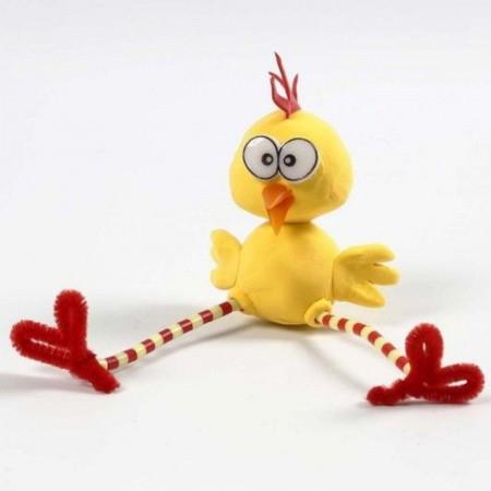Kurczak z Robakiem z masy Silk Clay od 3 lat, Creativ Company