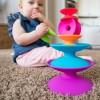 Spoolz Wieża Szpulek Fat Brain Toys +10mc