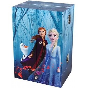 Skrzyneczka do makijażu Elsa Frozen z pozytywką, Trousselier