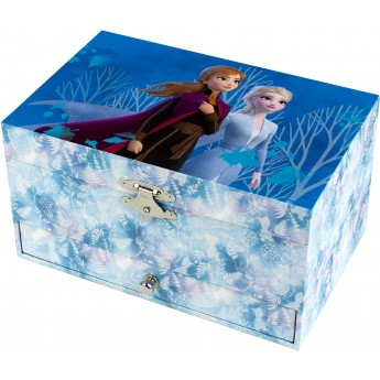 Szkatułka Elsa Frozen z pozytywką, Trousselier