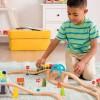 B.Toys Górska Kolejka zestaw z drewnianymi torami +3
