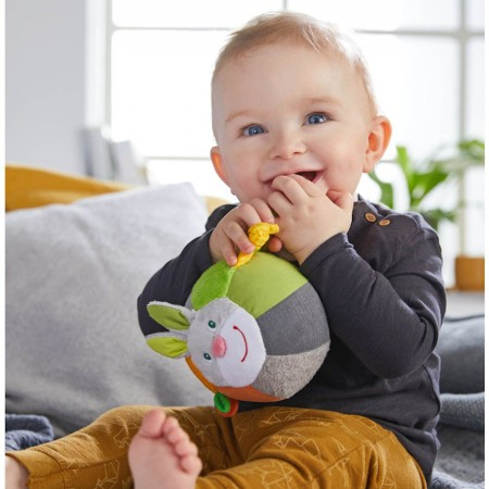 Haba Królik Hops piłka sensoryczna dla niemowląt +6m | Dadum Kraków