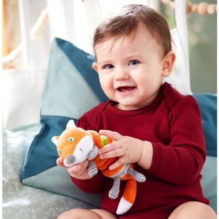 Haba Wibrujący Lisek zabawka dla niemowląt +6m   Dadum Kraków