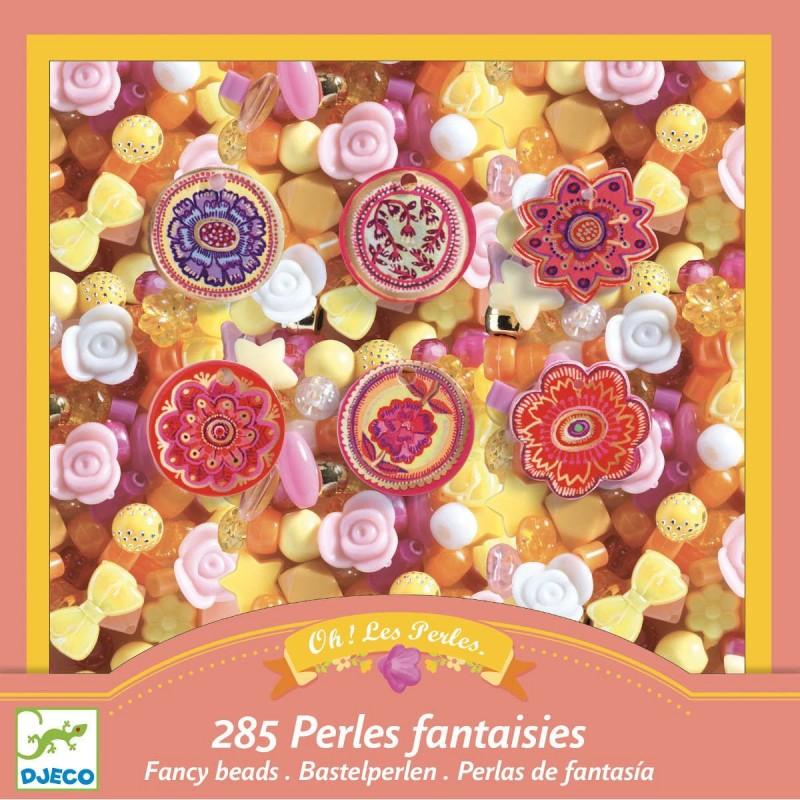 Djeco zestaw koralików Perełki i Kwiaty dla dzieci +6