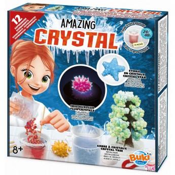 Buki Niesamowite Kryształy zestaw 12 eksperymentów +8