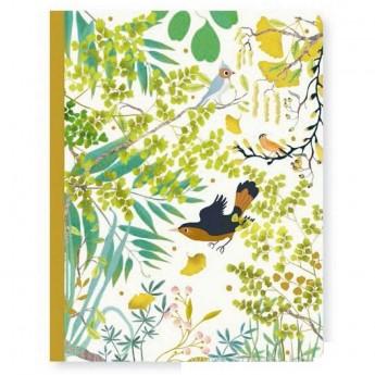 Djeco Notes Tinou 48 stron z miękką oprawką dla dzieci