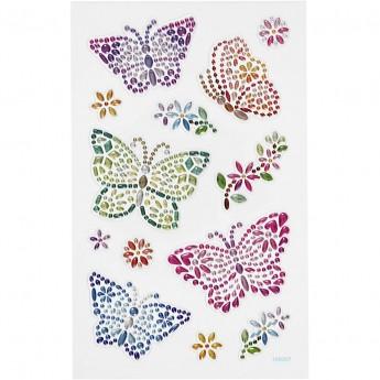 Naklejki z diamencikami Motyle dla dzieci Creativ Co. | Dadum Kraków