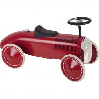 Goki jeździk metalowy retro czerwony dla dzieci +12mc