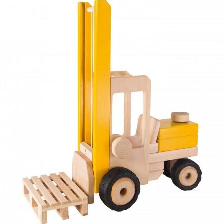 Goki Wózek widłowy drewniany 39 cm zabawka dla dzieci +3