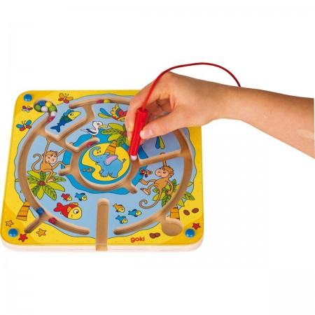 Goki gra labirynt magnetyczny Tropikalna Wyspa