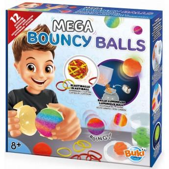 Buki Podskakujące Piłki zestaw naukowy dla dzieci +8