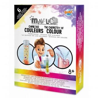 Buki Chemia Kolorów Mini lab zestaw naukowy +8