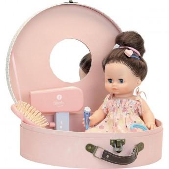 Petitcollin lalka Julie 28 cm w walizce z 10 akcesoriami
