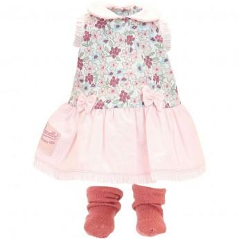 Petitcollin Ubranko Romy dla lalki 34cm sukienka i skarpetki | Dadum