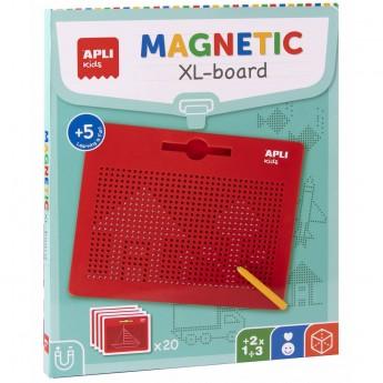 Apli Kids Duża magnetyczna tablica do nauki rysowania +5