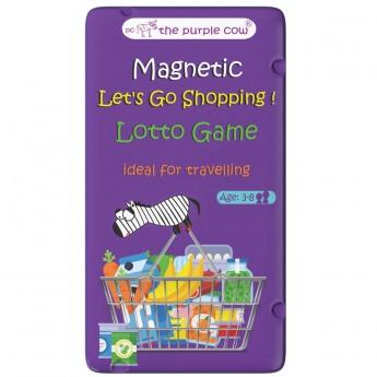 The Purple Cow Lotto zakupy podróżna gra magnetyczna +3