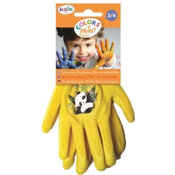 Aladine Rękawiczki ochronne do prac plastycznych +3-4 lat