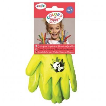 Aladine Rękawiczki ochronne do prac plastycznych +5-6 lat