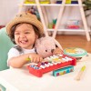 B.Toys Zestaw drewnianych instrumentów Mini Melody Band +2