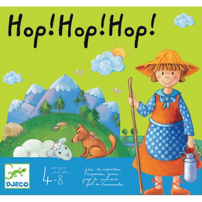 Hop Hop Hop gra zespołowa, Djeco